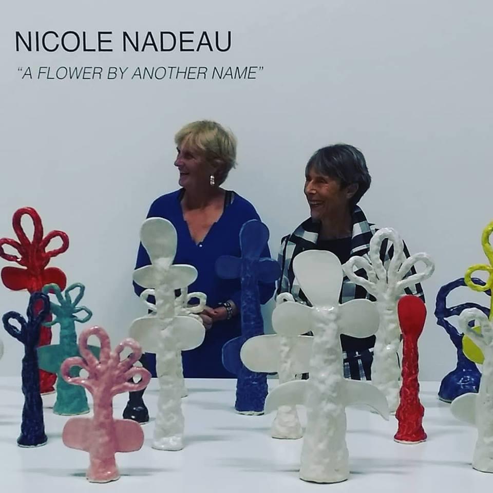 Nicole Nadeau- Michele Sommerlath- Gallery Karin Carton