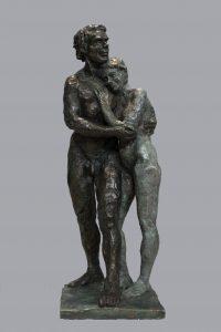 Ybah Adan et Eve Bronze